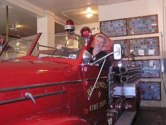 Fire Museum of Texas: Kids can even drive the fire engine!