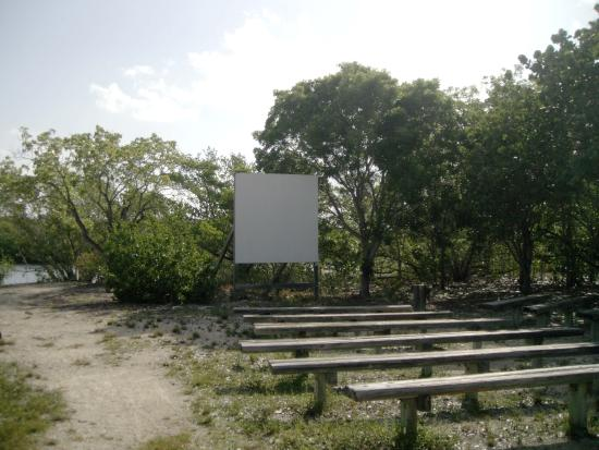 John Pennekamp Coral Reef State Park Campgrounds: out door movies and ranger programs