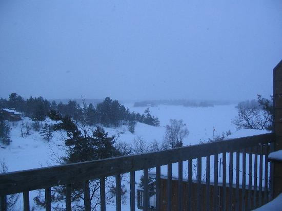 Pleasant Cove Resort: VIEW FROM THE CHALET
