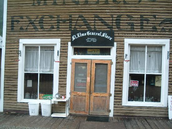 Mount Princeton Historic Bath House & Hot Springs: St Elmo General Store