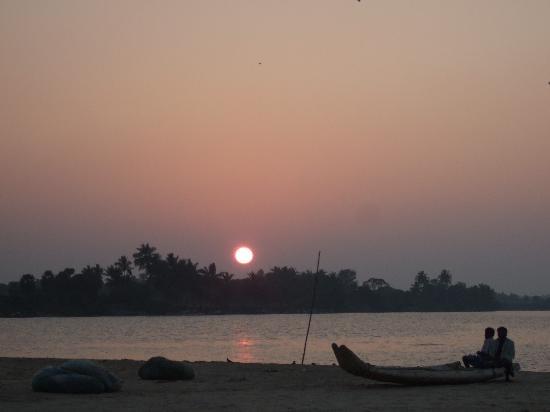 Tamil Nadu, India: Cuddalore - sunset