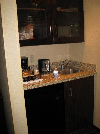 SpringHill Suites Salt Lake City Downtown: Kitchenette