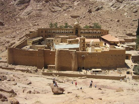 Visit St. Catherine monastery