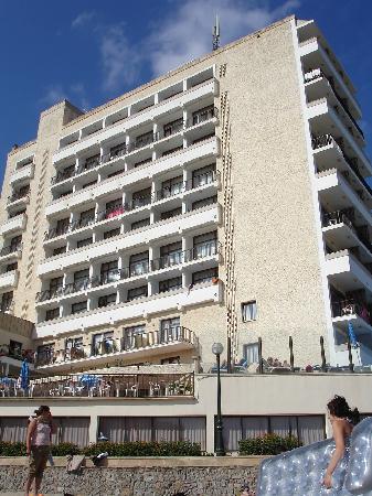 Son Moll Sentits Hotel & Spa: Hôtel vue prise de la plage