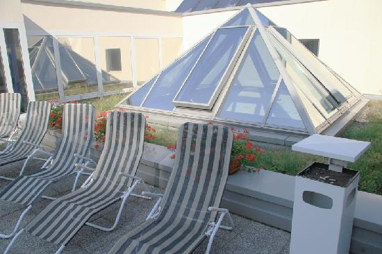 Hotel Watthalden: roof garden