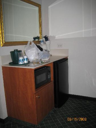 La Quinta Inn & Suites San Antonio Downtown: Fridge