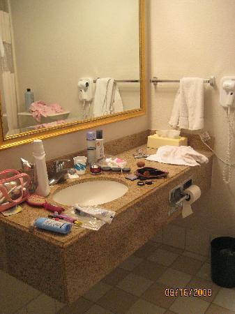 La Quinta Inn & Suites  San Antonio Downtown: Vanity in bathroom