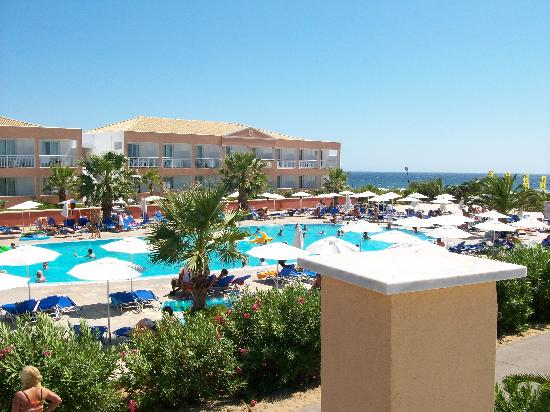 Golden Sands Hotel St George South Corfu Greece Video