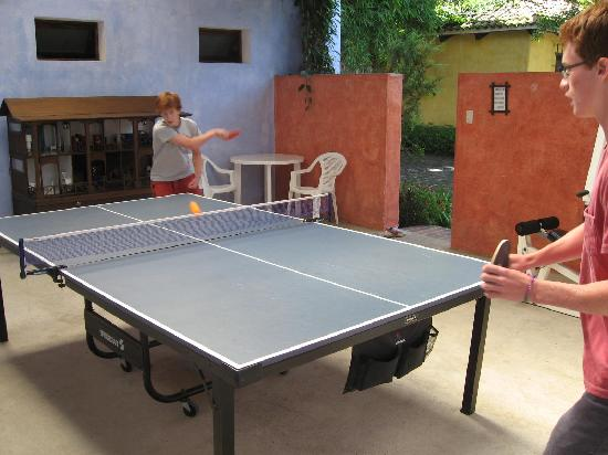 Quinta de las Flores : ping pong!