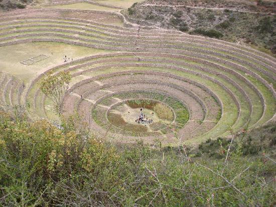 Machu Picchu, Perú: Moray