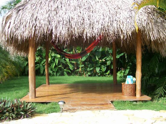 Casa Chameleon Hotel Mal Pais: hammock hut