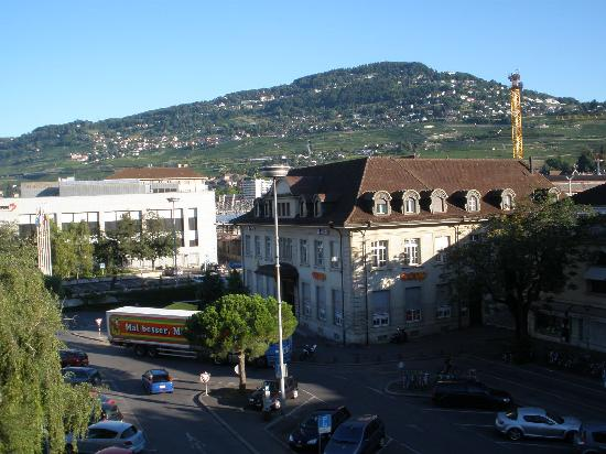 Astra Hotel Vevey: view from bedroom