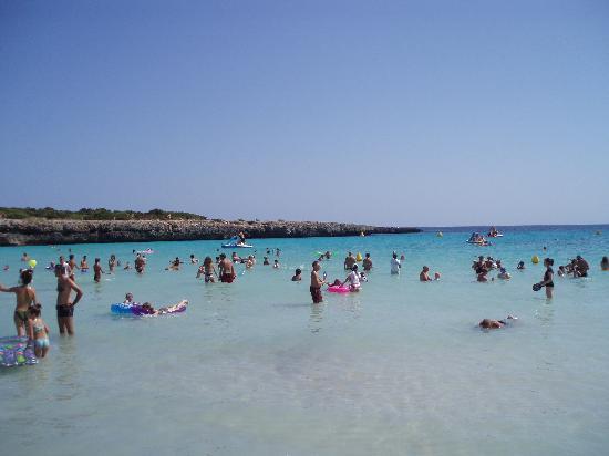 Aparthotel Paradise Club & Spa: Cala'n'Bosch Beach