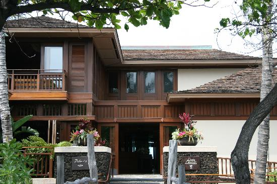Four Seasons Resort Hualalai: Pahu I'a downstairs, Lava Lounge upstairs