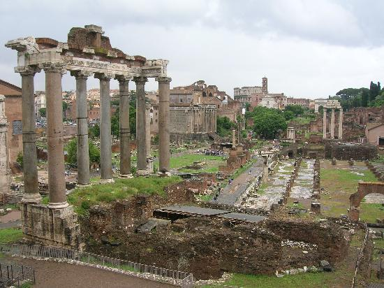 Ρώμη, Ιταλία: Roman Forum from the Capitoline Hill