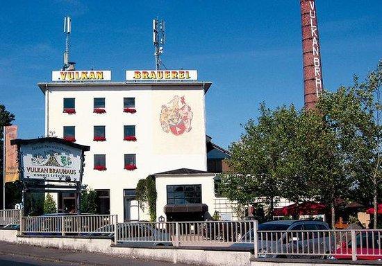 Mendig, Alemania: Aussenansicht des Brauerei- und Brauhausgelände