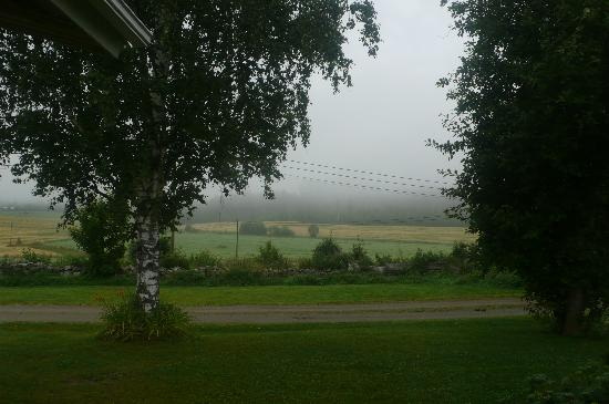 Toivakka, Finland: view from our room