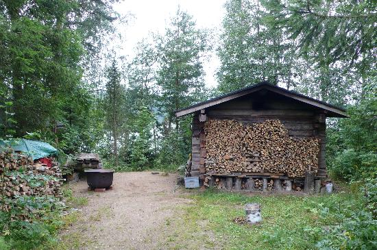 Toivakka, Finland: sauna