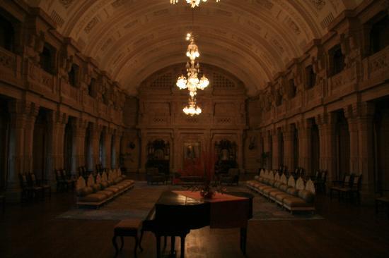 Umaid Bhawan Palace Jodhpur: The piano room
