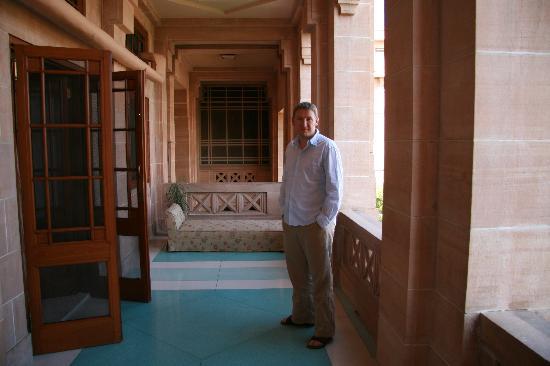Umaid Bhawan Palace Jodhpur: Our balcony