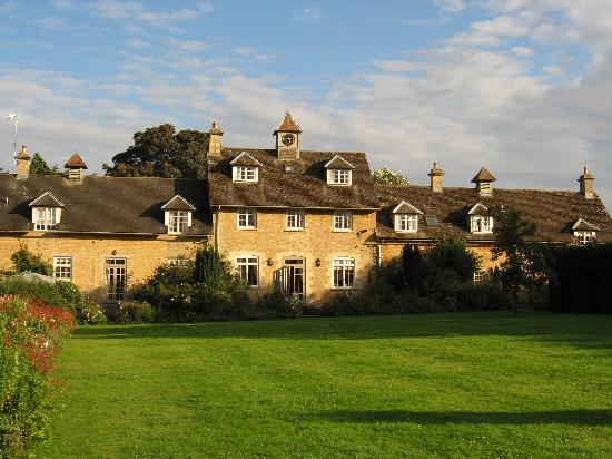 Bruern Cottages: The rear of the Stable block