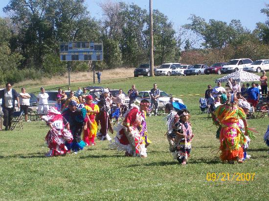 Chamberlain, SD: Some of the boys in the PowWow