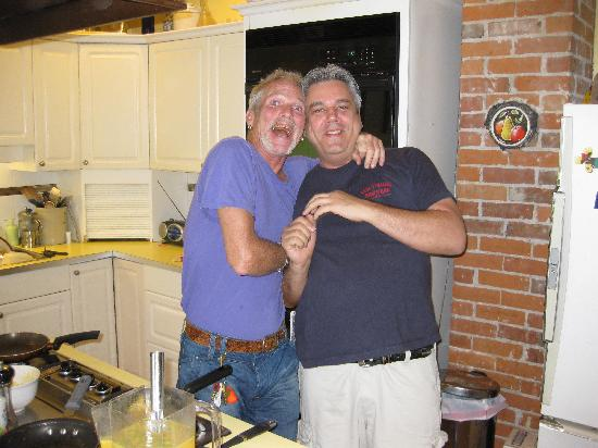 Manor Guest House: Brian and Dave