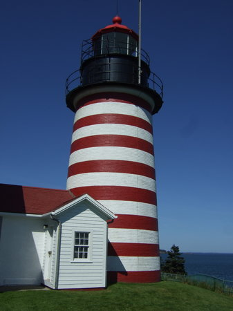 Lubec, Мэн: The Lighthouse
