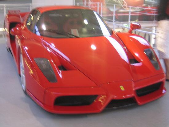 Maranello, Italien: Enzo Ferrari