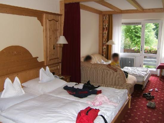 Alm- & Wellnesshotel Alpenhof: Our Alpenrose Room