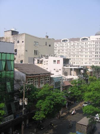 Indochine Hotel: View from the room