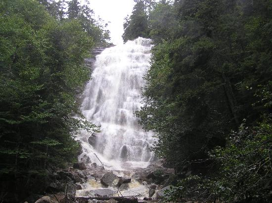 Beech Hill Campground and Cabins: Arethusa Falls: easy/moderate 2.5 hour hike
