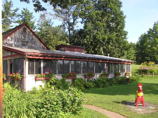 Beech Hill Campground and Cabins: Polly's Pancake Parlor in Sugar Hill
