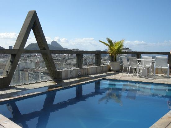 Augusto's Copacabana Hotel: Pool