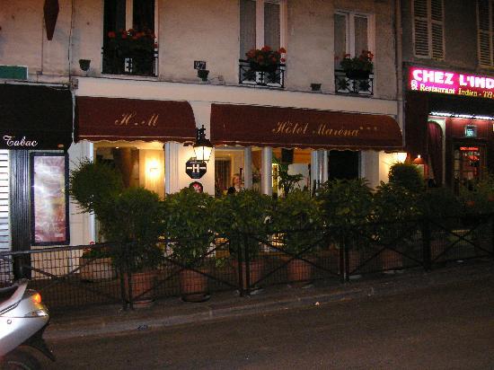 Hotel Marena: Outside of Hotel