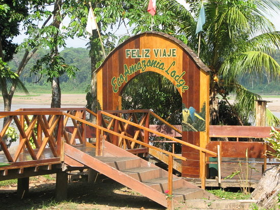 Tambopata National Reserve, Peru: Entrance