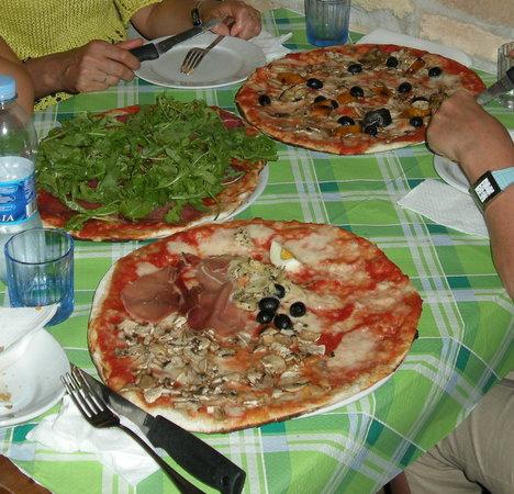 Pizzeria San Calisto : TOdas buenísimas