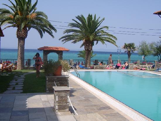 Polichrono, Yunanistan: pool