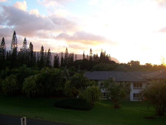 Nihilani at Princeville: View from the lanai