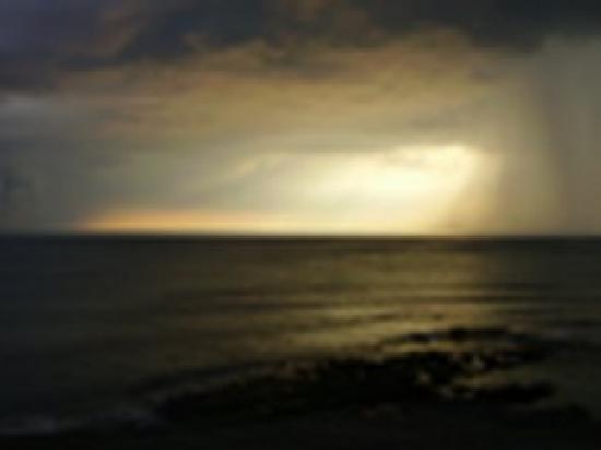 Celtic Bay Guest House: sunset