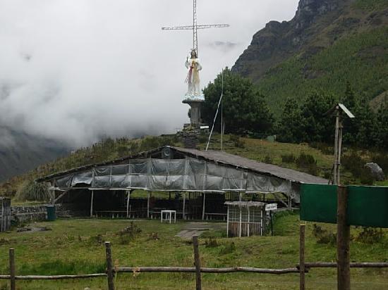 El Cajas National Park: chapelle