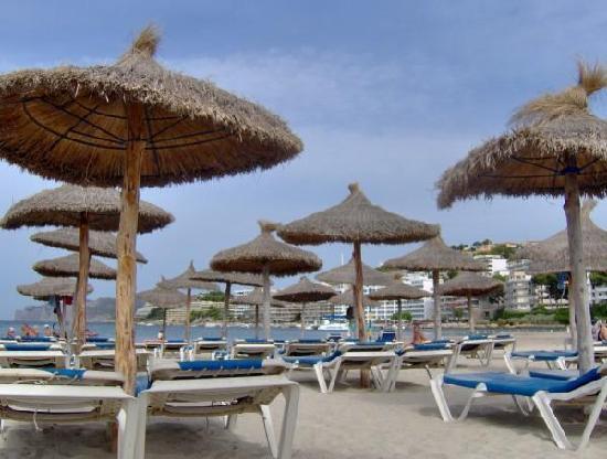 Santa Ponsa, Spain: Beach