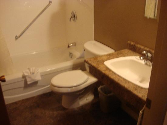 Arbutus Grove Motel: Clean bathrooms!