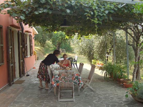 B&B Montefrancio: Breakfast in the morning