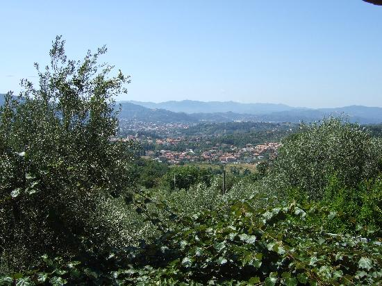 B&B Montefrancio: view on the valley of Magra
