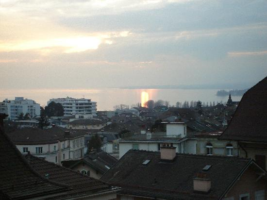 Lausanne Guesthouse & Backpacker: View from our room