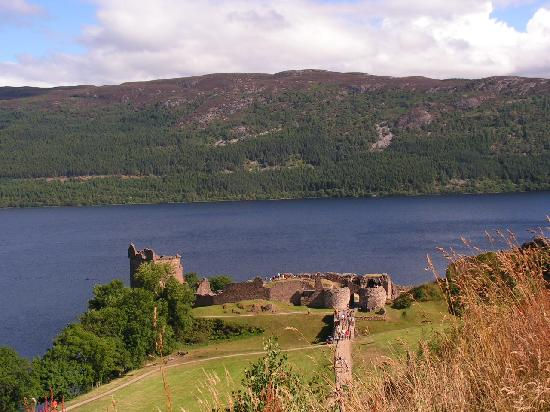 Loch Ness, UK: il castello