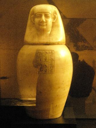 Museo Arqueologico Nacional: Vaso canope