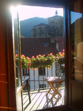 Isaba, Spain: View from our bedroom