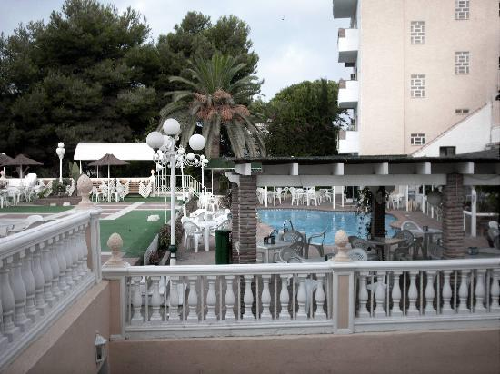 Nerja Club: View from our room